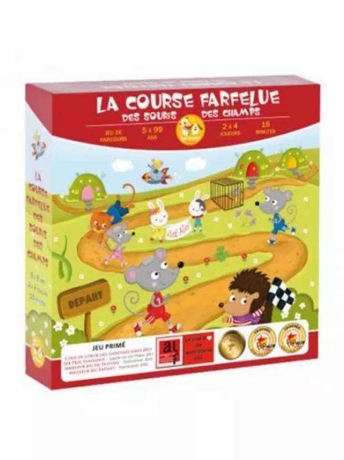 """La course farfelue des souris des champs """"Zoé Yatéka"""""""