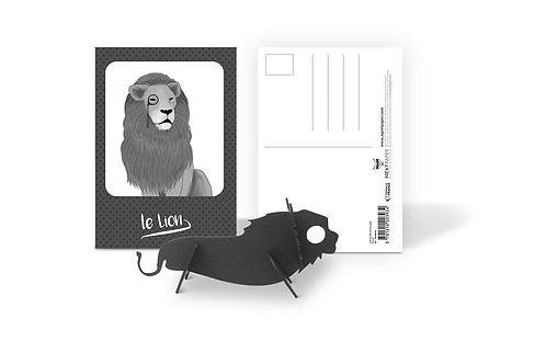 """Carte a assembler - Lion  """"Agent Paper"""""""