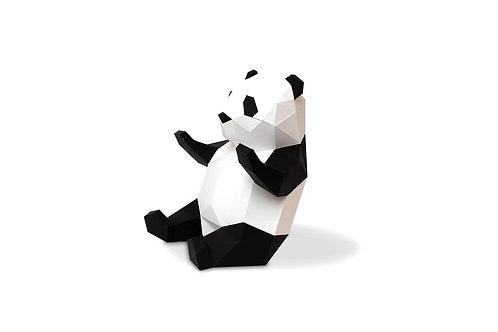 """Trophée 3D - Babies - Panda """"Agent Paper"""""""