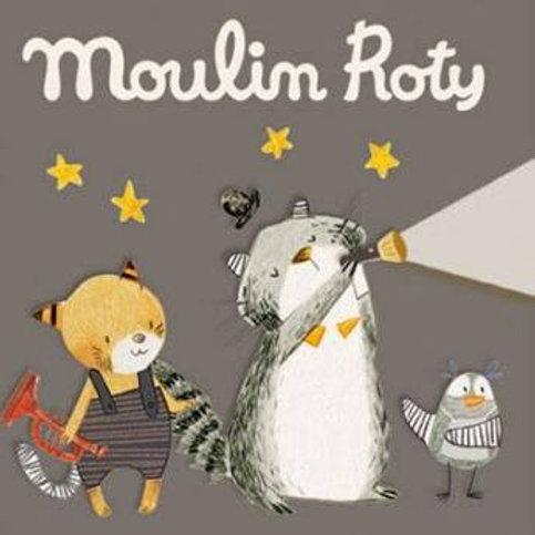 """3 disques lampe à histoires - Les moustaches """"Moulin Roty"""""""