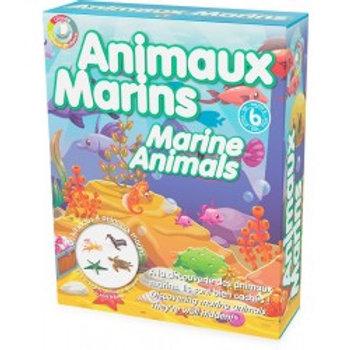 """Kit bloc d'argile: Les animaux marins """"Ulysse"""""""