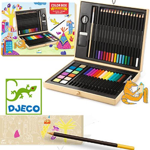 "Color box 47 pcs ""Djeco"""