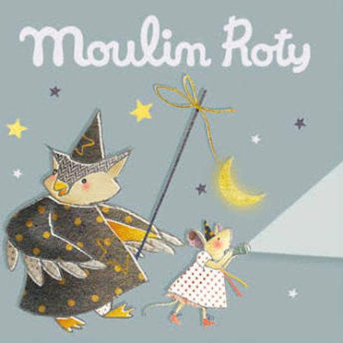 "3 disques lampe à histoires - Les contes ""Moulin Roty"""