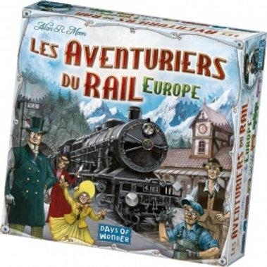 """Les aventuriers du rails Europe """"Asmodée"""""""