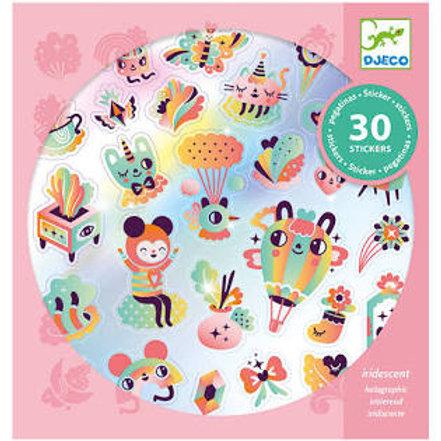 """Stickers textures - Lovely Rainbow """"Djeco"""""""