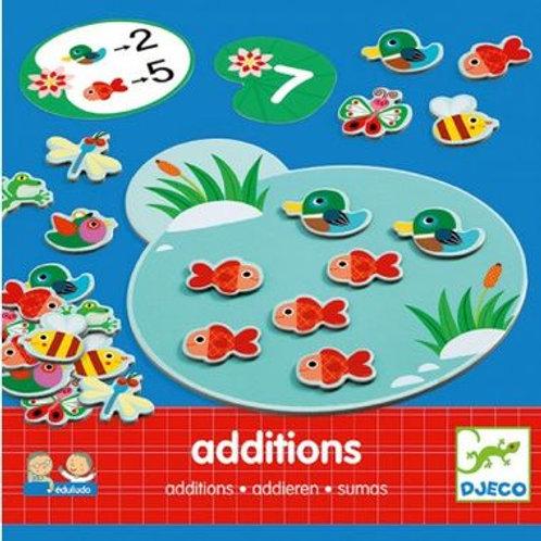 """Eduludo additions - Jeu de calcul """"Djeco"""""""