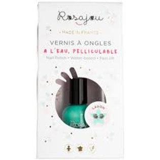 Vernis Lagon + tatouage Rosajou