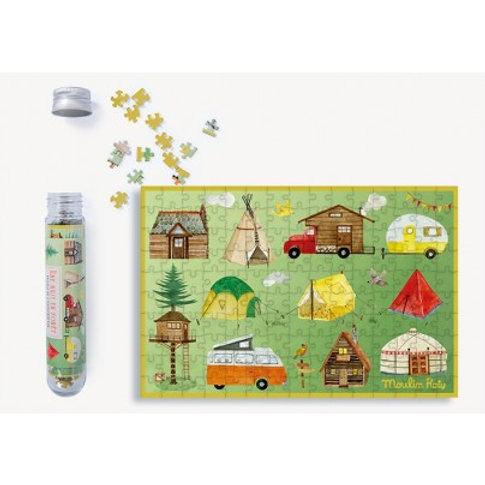 """Mini puzzle une nuit en forêt - 150 pcs """"Moulin Roty"""""""