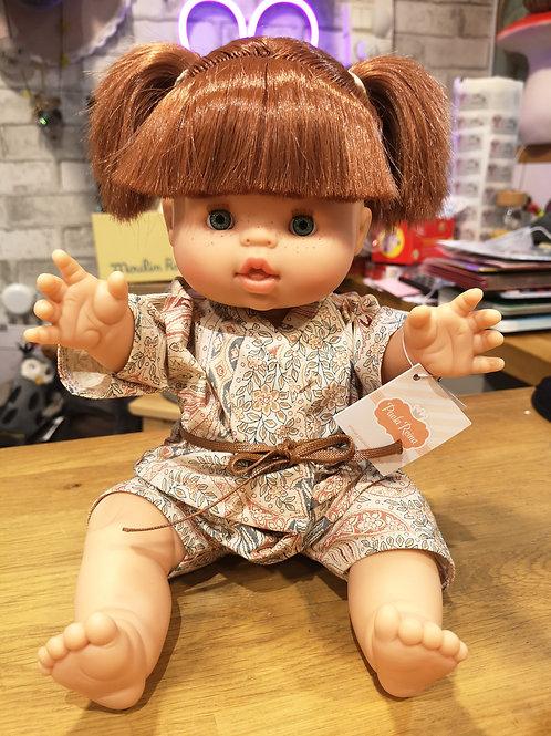 Poupon Gordis fille couettes avec ses petits habits - Paola Reina