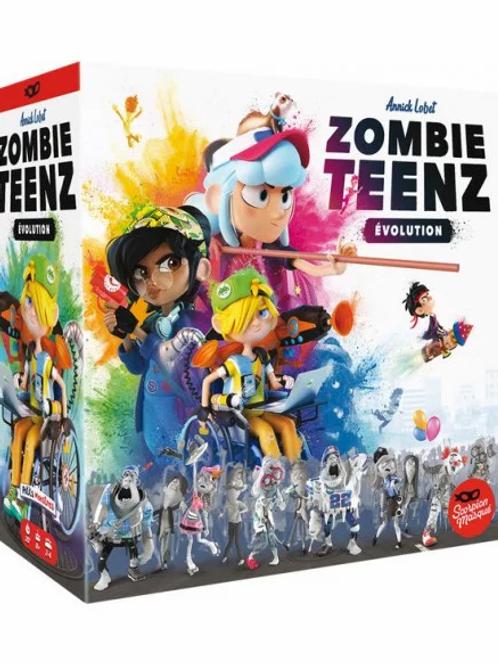 "Jeu Zombie Teenz evolution ""Asmodee"""