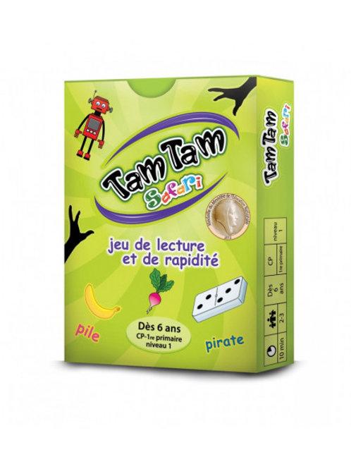 """Tam Tam Lecture CP - 6 ans - niveau 1  """"Blackrock games"""""""