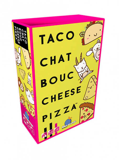 "Taco chat bouc cheese pizza ""Blue orange"""
