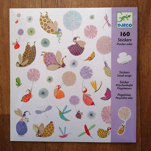 """160 Stickers (violet) """"Djeco"""""""