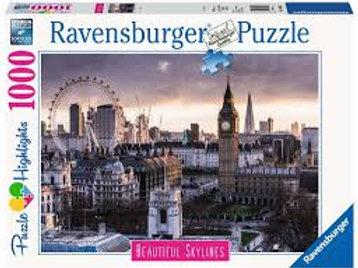 """Puzzle 1000 pièces Londres """"RAVENSBURGER"""""""