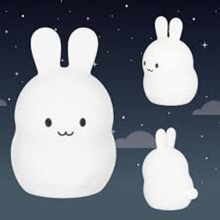 "Veilleuse silicone souple - lapin - ""Ulysse"