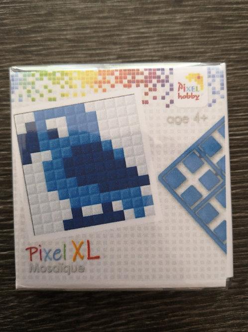"Mini Kit Pixel XL  3 couleurs - Oiseau - ""pixel hobby"""