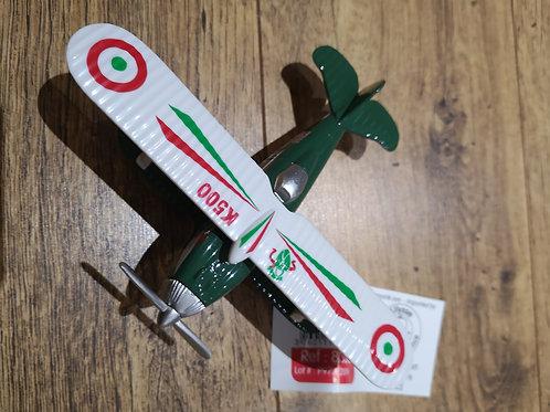 "Avion biplan - vert  ""Ulysse"""