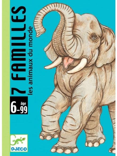 """7 familles des animaux du monde """"Djeco"""""""