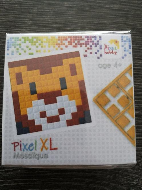 """Mini Kit Pixel XL  4 couleurs - Lion - """"pixel hobby"""""""