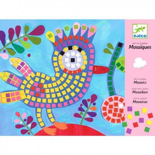 """Mosaiques oiseaux """"Djeco"""""""