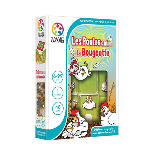 "Les poules ont la bougeotte ""Smart games"""
