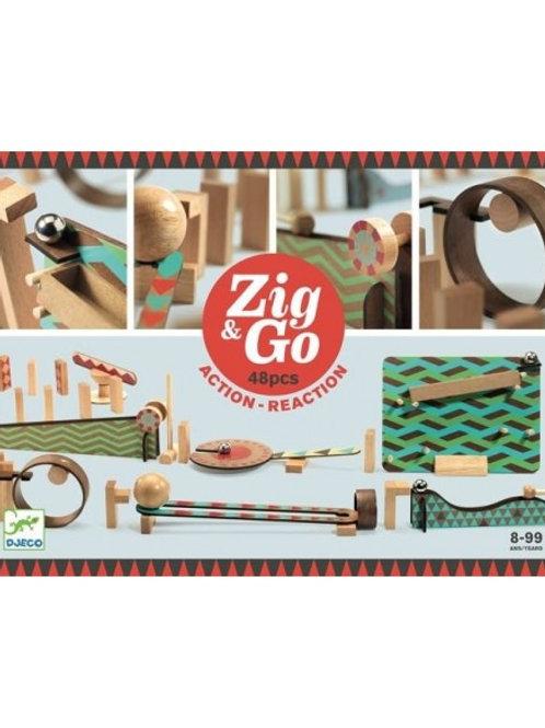 """Zig & Go Big boum wall 48 pcs """"Djeco"""""""