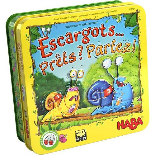 """Escargots... prêts? partez! """"Haba"""""""