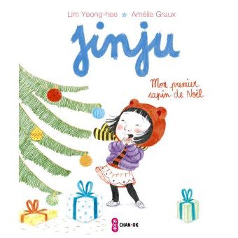 """Jinju - mon premier sapin de Noël """"Ecole des loisirs"""""""