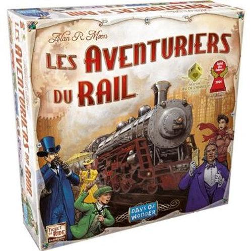 """Les aventuriers du rails """"Asmodée"""""""