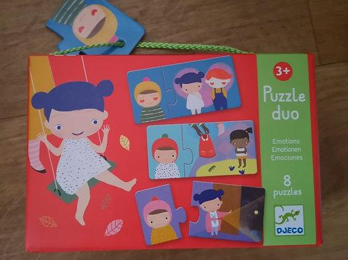 "Puzzle duo Emotions ""Djeco"""