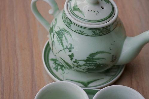 """""""Bat Trang"""" Tea Set"""