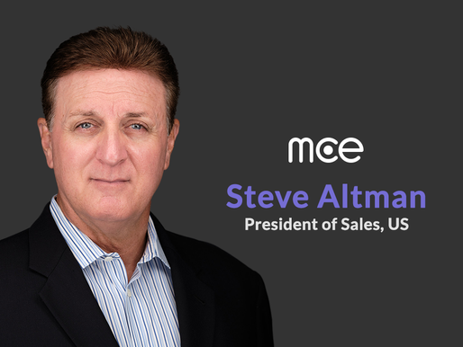 Steve Altman joins mce to run U.S. sales
