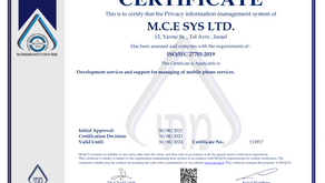 mce Systems reinforces commitment to Telco-grade Data Privacy & Information Security Management