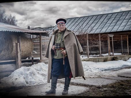 100-летию Вёшенского восстания. Реконструкция в Донском монастыре.