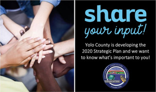 Yolo County Strategic Plan- Share Your Input!