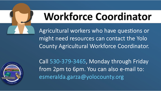 Resources for the Agricultural Community & Yolo County Daily Briefings