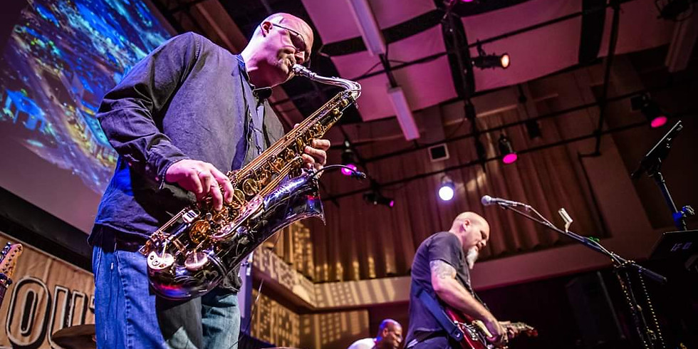 Jason Cale Acoustic Duo feat. Jeff Saunders on sax at Vanguard