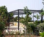 Πέργκολα σιδήρου Καραμηνάς