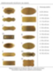 Medeninaste ploščice za vrata
