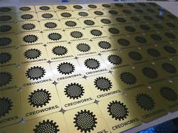 Kovinske ploščice - medenina