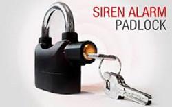 Alarm-padlock