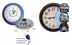 Wall-clock-with-spy-camera