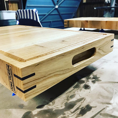 Solid Ash Wide Chopping Board