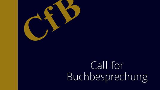 Call for Buchbesprechungen
