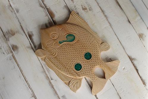 Рыбка D12 из липы
