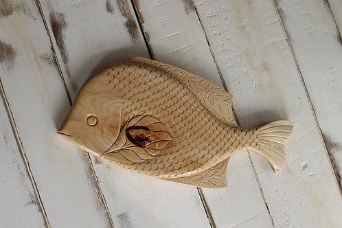 Рыбка D11 из липы