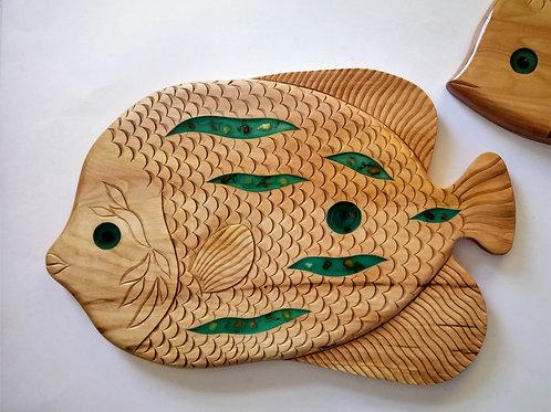 Рыбка D18 из липы