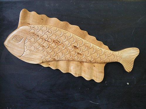 Рыбка D13 из липы