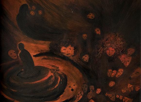 """""""Entre Congojas y Lamentos"""" (9av) en Canvas"""