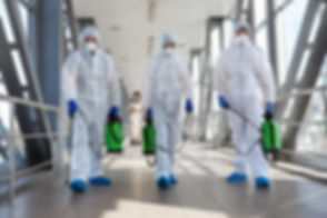 Specialist in hazmat suits cleaning disi